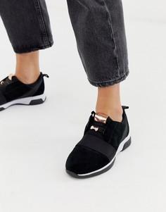 Черные кроссовки Ted Baker - Черный