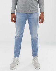 Светлые узкие джинсы Diesel Mharky 080AF - Синий