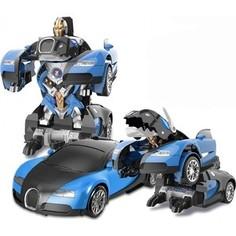 Радиоуправляемая робот-собака MZ Model Радиоуправляемый трансформер робот зверь Bugatti Veyron Blue 1:14 - MZ-2801P-B