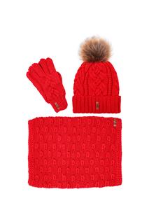 Комплект:шапка,снуд,перчатки Sava Mari