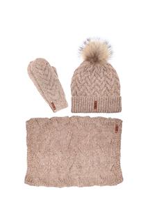 Комплект:шапка,снуд,варежки Sava Mari