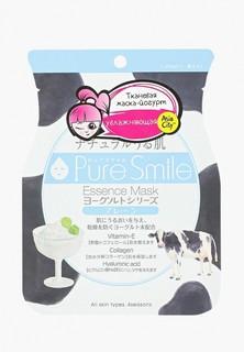 Маска для лица Pure Smile Yougurt на йогуртовой основе 1 шт