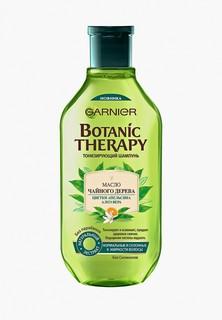 Шампунь Garnier Botanic Therapy Масло чайного дерева, цветки апельсина, алоэ вера для нормальных и склонных к жирности волос, 400 мл