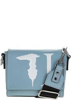 Маленькая сумка с широким плечевым ремнем Trussardi Jeans