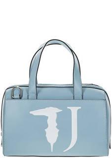 Сумка на молнии с логотипом бренда Trussardi Jeans
