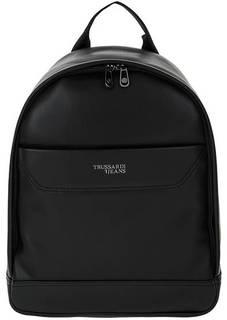 Черный рюкзак с отделением для ноутбука Trussardi Jeans