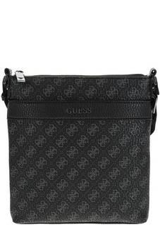 Маленькая сумка через плечо с монограммой бренда Guess