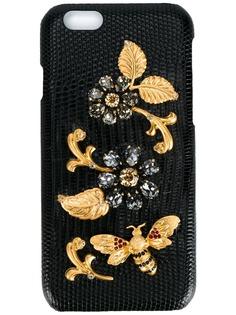 Dolce & Gabbana декорированный чехол iPhone 6