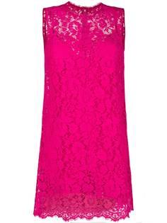 Dolce & Gabbana кружевное платье шифт
