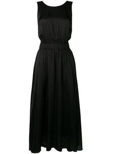 Forte Forte атласное платье без рукавов