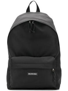 Balenciaga large double backpack