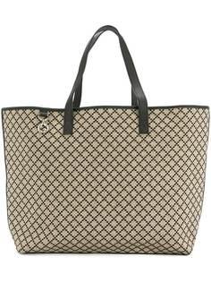 Gucci Vintage жаккардовая сумка-тоут