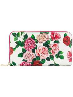 Dolce & Gabbana кошелек с принтом роз