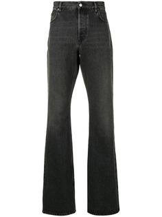 Balenciaga слегка расклешенные джинсы свободного кроя