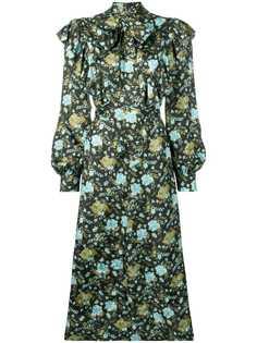 Golden Goose Deluxe Brand платье с цветочным принтом