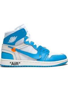 Off-White хайтопы Nike x Off-White Air Jordan 1