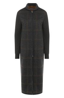 Кашемировое пальто на молнии Loro Piana