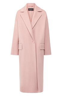 Кашемировое пальто с отложным воротником Loro Piana