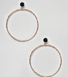 Золотистые серьги-кольца ALDO - Золотой