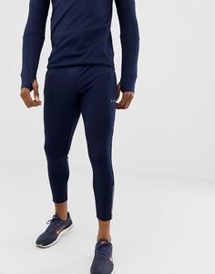 Темно-синие спортивные джоггеры супероблегающего кроя ASOS 4505 - Темно-синий