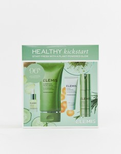 Набор средств по уходу за кожей с суперфудами Elemis Kickstart Collection - Бесцветный