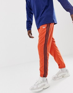 Зеленые джоггеры с 3полосками adidas Originals DV3141 - Оранжевый