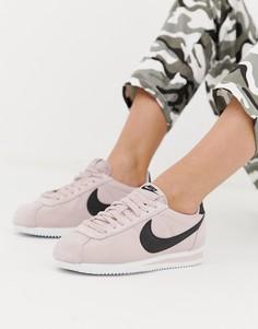 Розовые кроссовки Nike Cortez - Розовый