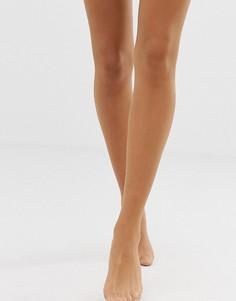 Матовые чулки телесного оттенка плотностью 10 ден Nubian Skin - Бежевый