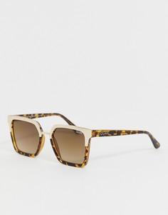 8325d924811c Квадратные солнцезащитные очки в черепаховой оправе Quay Australia X Jaclyn  Hill Upgrade - Коричневый