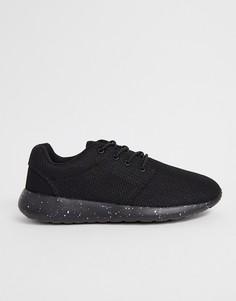 Черные кроссовки со шнуровкой Loyalty & Faith - Черный
