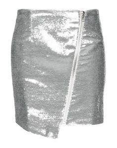 6d8c6004061 Серебристые женские юбки-карандаш – купить в интернет-магазине
