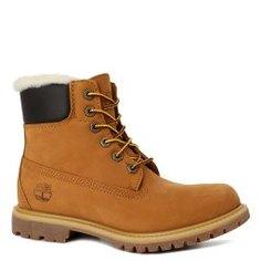 Ботинки TIMBERLAND 6 inch Premium Shearling Lined оранжево-коричневый