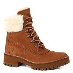 Ботинки TIMBERLAND Courmayeur Shearling Boot коричневый