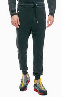 Хлопковые брюки джоггеры с карманами Diesel
