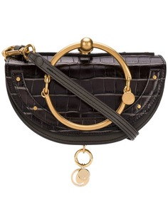 Chloé сумка через плечо Nile с ручкой-браслетом