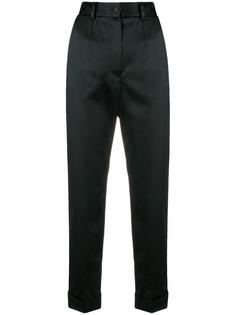 Dolce & Gabbana укороченные брюки с завышенной талией