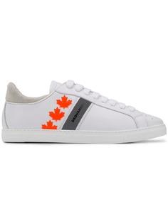 Dsquared2 низкие кроссовки с логотипом