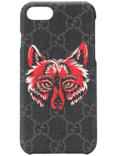 Gucci wolf print iPhone 8 case