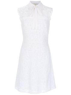 Michael Michael Kors платье из цветочного кружева без рукавов