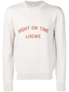 Loewe джемпер Right On Time