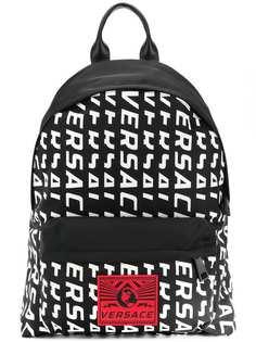 Versace рюкзак с логотипом
