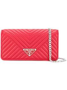 Prada quilted mini crossbody bag