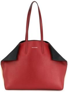 Alexander McQueen складная сумка-тоут