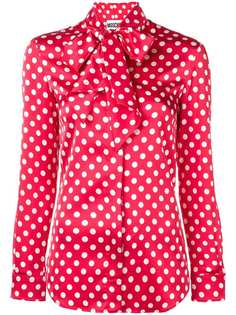 Moschino блузка в горох