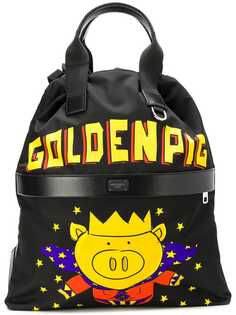 Dolce & Gabbana рюкзак Goldenpig