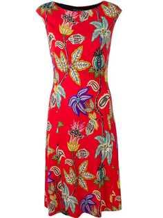 Etro платье с цветочным принтом