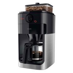 Кофеварка PHILIPS HD7767, капельная, черный / стальной [hd7767/00]