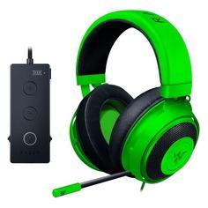Наушники с микрофоном RAZER Kraken Tournament, мониторы, зеленый [rz04-02051100-r3m1]