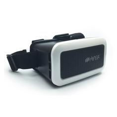 Очки виртуальной реальности HIPER VR VRM, черный/белый