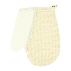 Мочалка-рукавица для тела DE.CO. натуральная лен Deco